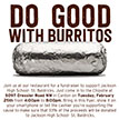 Help us Support St. Baldrick's by eating at Chipotle